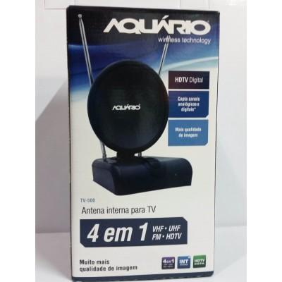 Antena Interna Aquario HDTV 4X1