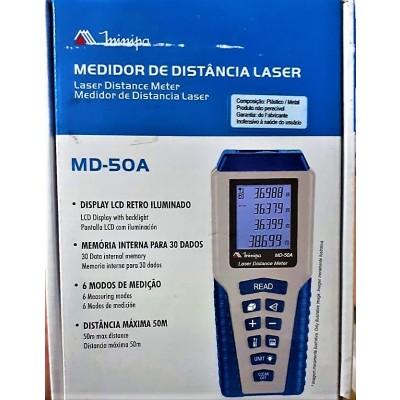 MEDIDOR DE DISTÂNCIA LASER MINIPA MD-50A