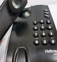 Telefone com fio Pleno Intelbras pt