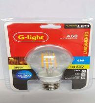 Lâmpada LED filamento A60 G-light® 3000k
