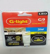 Lâmpada Led  G9 3w 6500k G-light