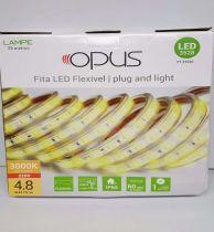 Fita Led Flexivel 4,8w 3000k 220v
