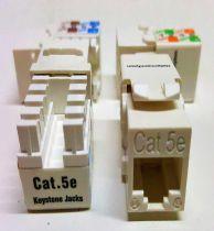 Keystone  Cat5e Conector Femea