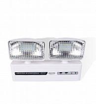 Iluminação emergência LED 2 faróis 350 lumens
