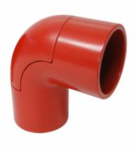 Cotovelo PVC 3/4 Vermelho