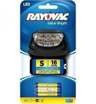 Lanterna de cabeça 5 leds Rayovac