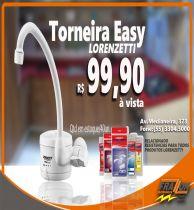 Torneira Elétrica Loren Easy Branca - Lorenzetti