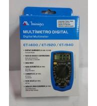 Multimetros Digitais ET-1400