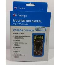 Multimetros Digitais ET-1100A