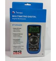 Multimetros Digitais ET-2042E
