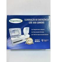 Iluminação De Emergência Segurimax Led 350 Lumens 2 Fárois