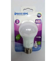 Lâmpada Led Bulbo 6w 6500K Bivolt 600 lumens Philips