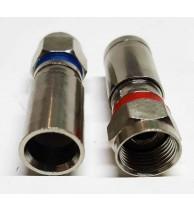 Conector Coaxial Pressão RG6