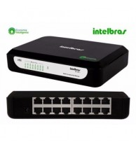 Switch Fast Intelbras 16 portas Intelbras